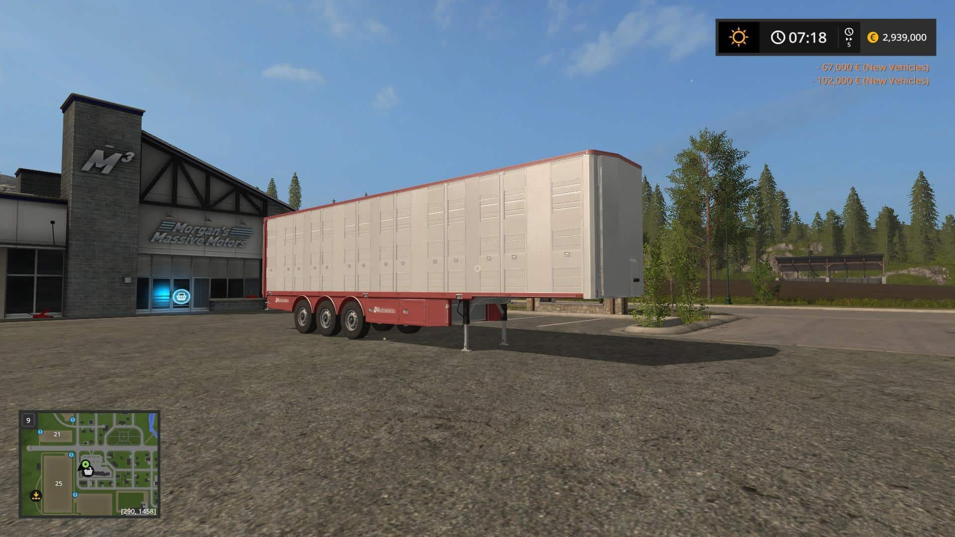 Michieletto cattle trailer v1.1