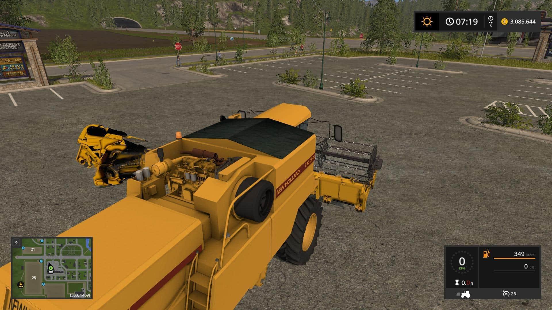 New Holland TX34 v1.0