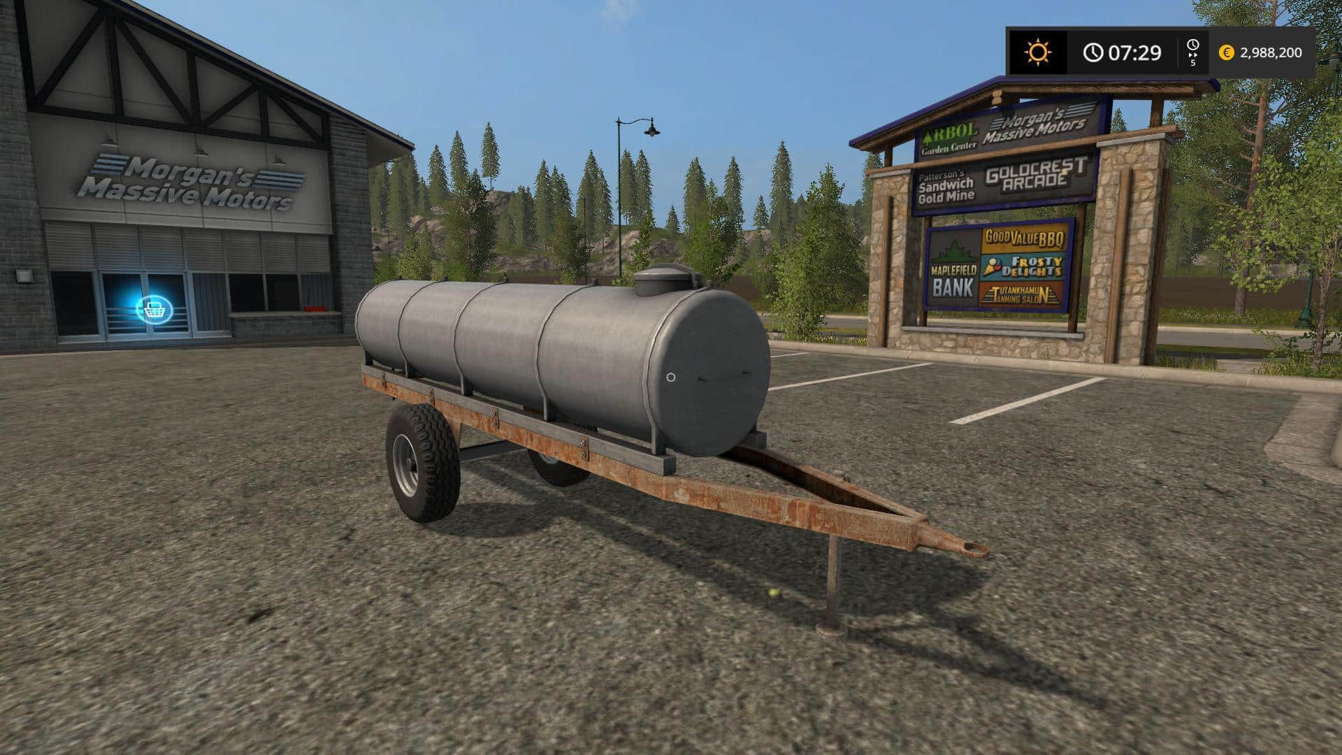 Old-Style water Transport v1.4