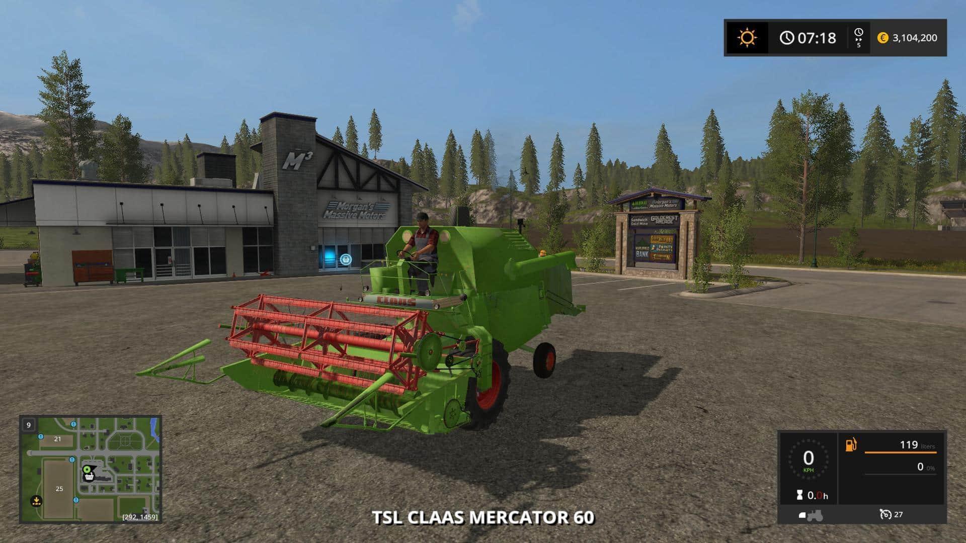 TSL Claas Mercator 60 v1.0