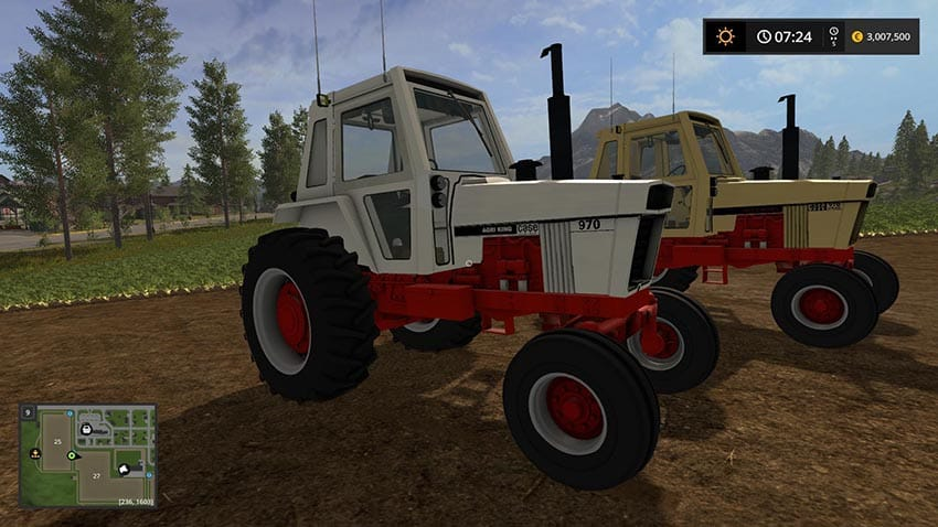 Case 70 series Small TRACTOR v 1.0