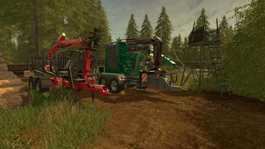 Forestry equipment with Dynamic Hoses V 1.0 [MP]