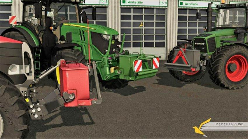John Deere Self-Made Weight v 1.0