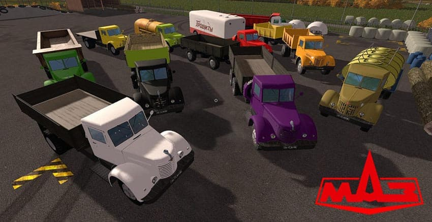 MAZ 200 Pack V 1.0 [MP]