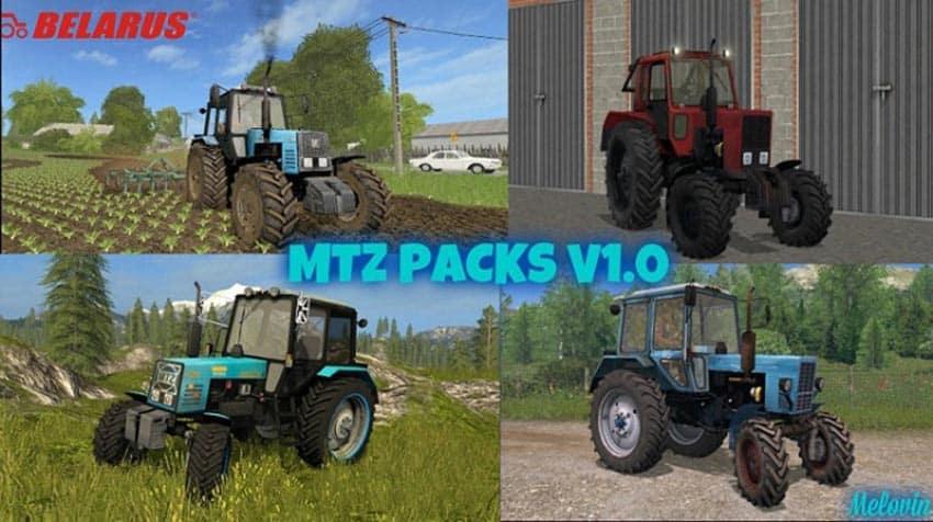 Mod Packs MTZ V 1.0 [MP]