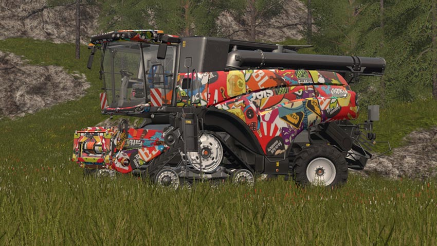 New Holland CR 1090 Sticker Bomb V 1.0 [MP]
