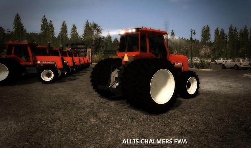 AC 8000 Series 4WD TRACTOR V 1.0