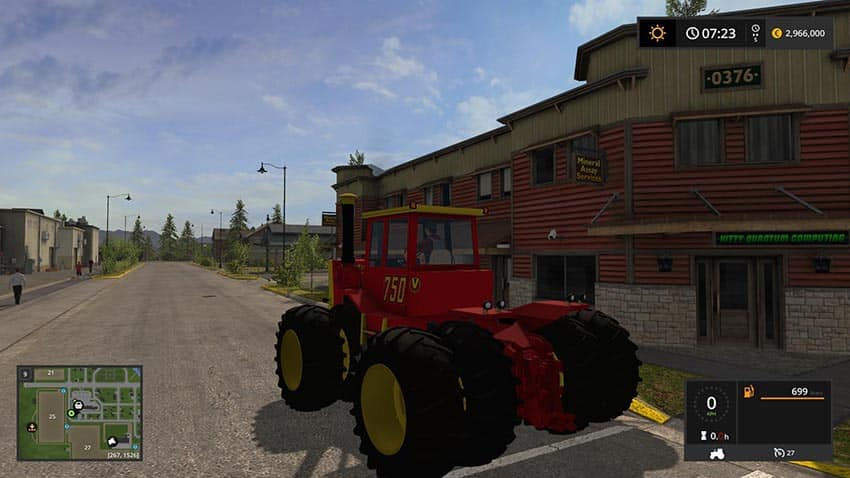 Versatile 6cyl Articulated 4WD TRACTOR v 1.0