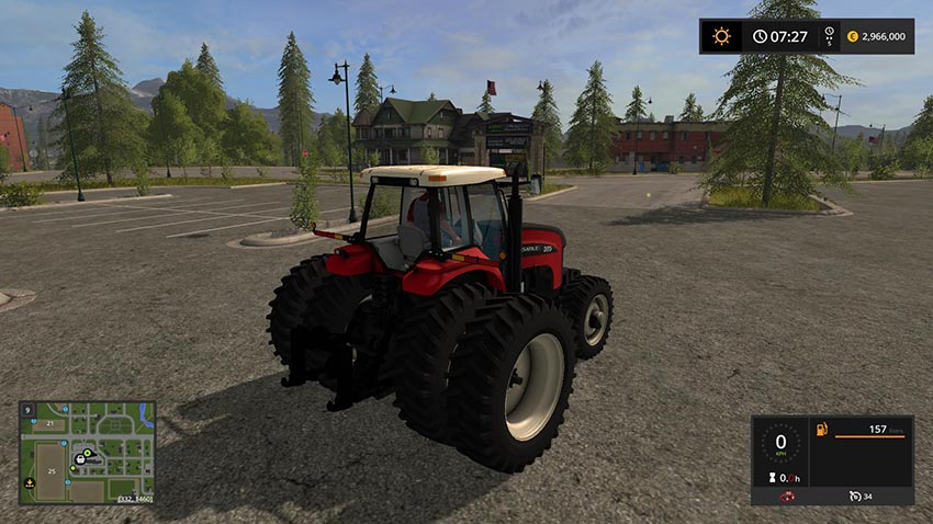 Versatile Series Tractor v 1.0