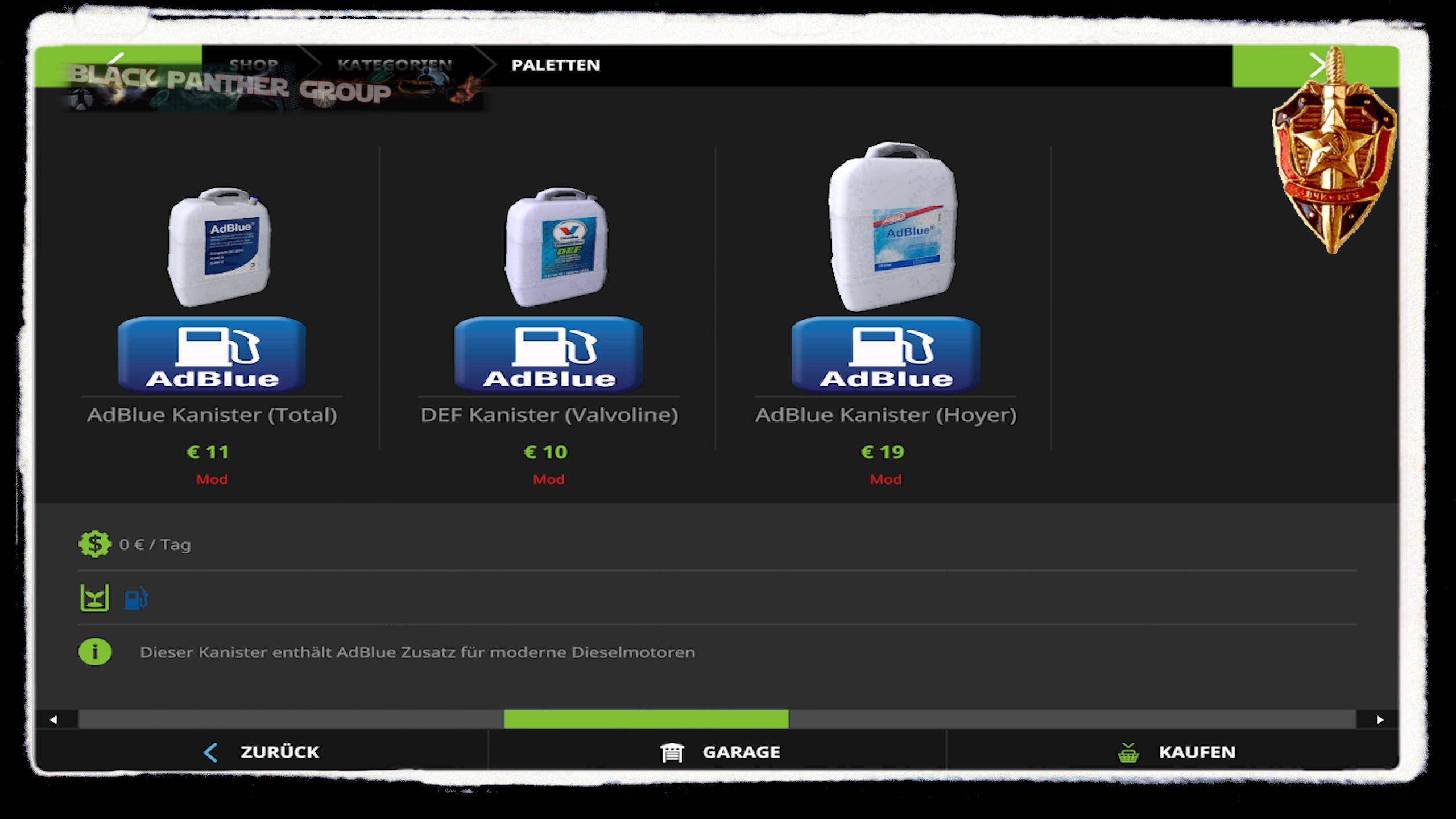 ADBLUE FOR VEHICLES + ADDONS v1.4.4.0