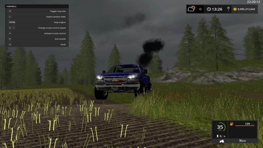 Chevy 2500 lifted LBZ duramax v1.0