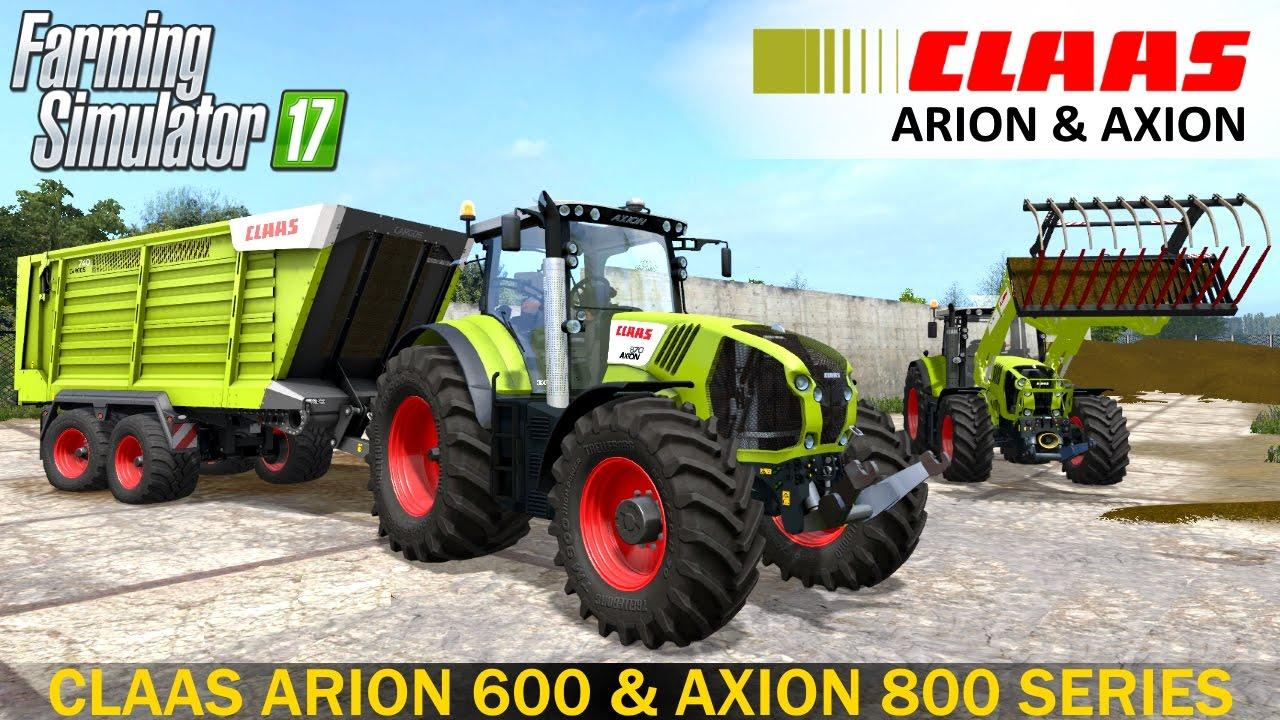 Claas Arion 600 & Axion 800 Series v1.1