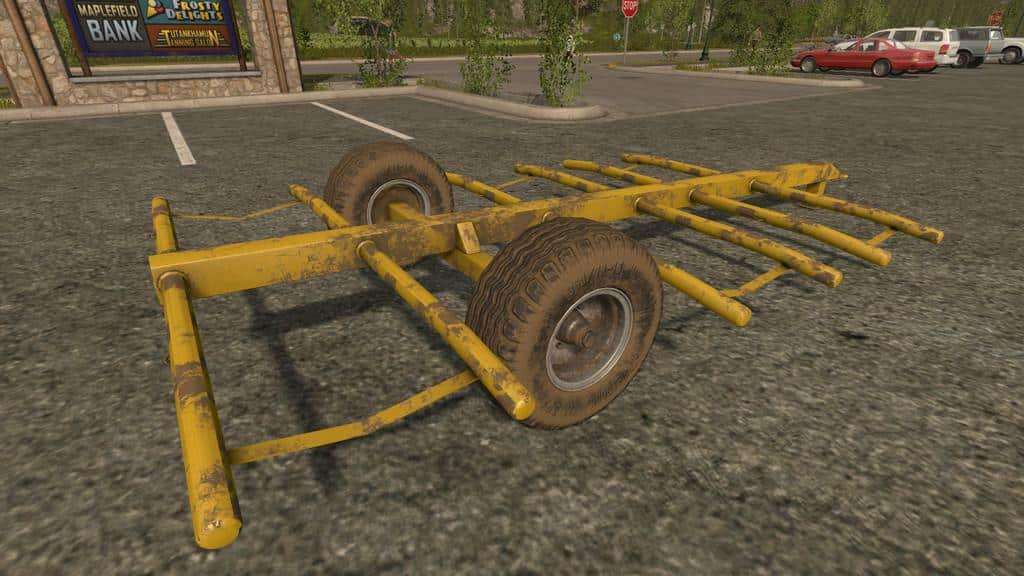 Home Made Bale Trailer v1.0.0.0