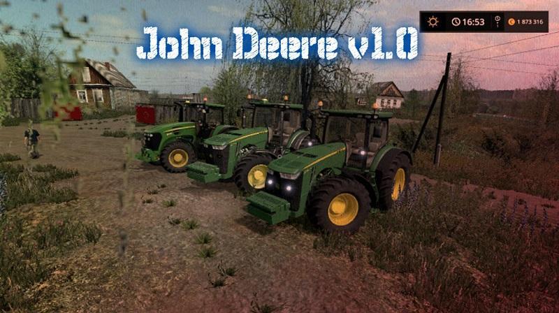 MOD PACKS JOHN DEERE v1.0