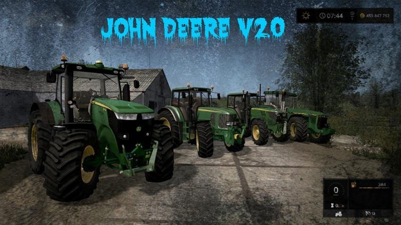 Mod Packs John Deere v2.0
