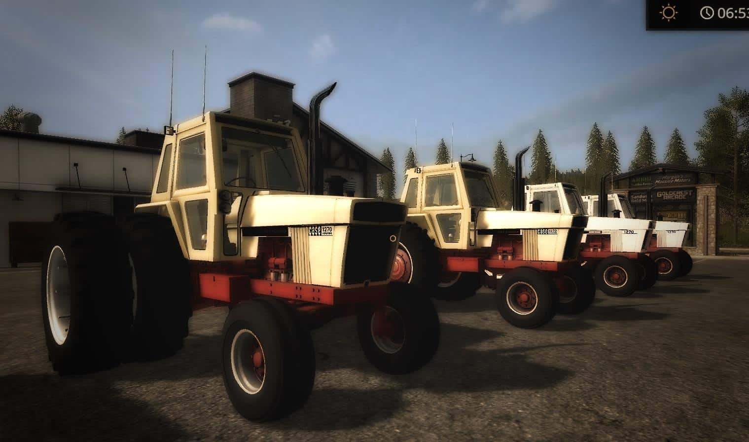 OLD IRON CASE 70 Series TRACTOR v1.0
