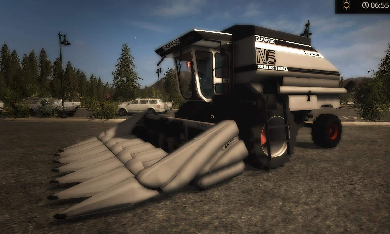 OLD IRON Gleaner N6 and N7 Combine v1.0