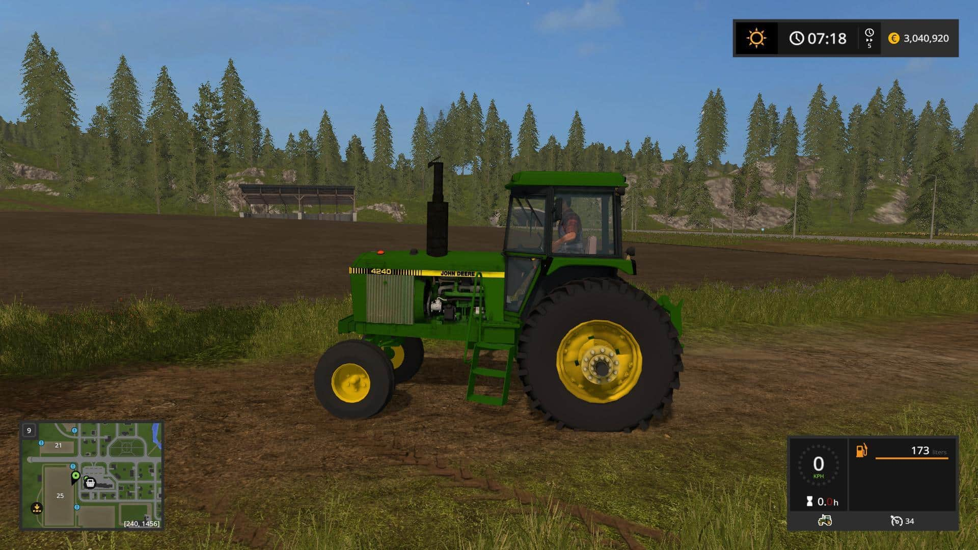 OLD IRON JD 40 series 2wd V1.0