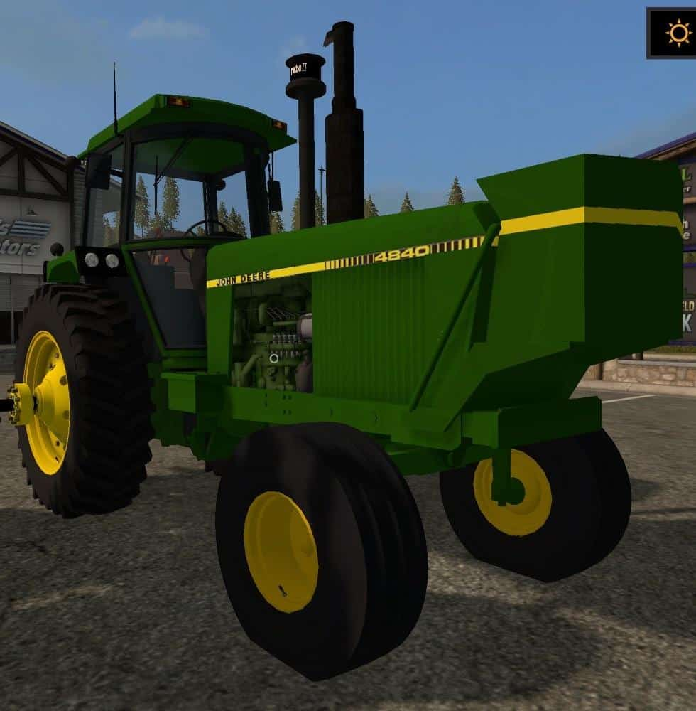 OLD IRON JD 4840 2WD v1.0