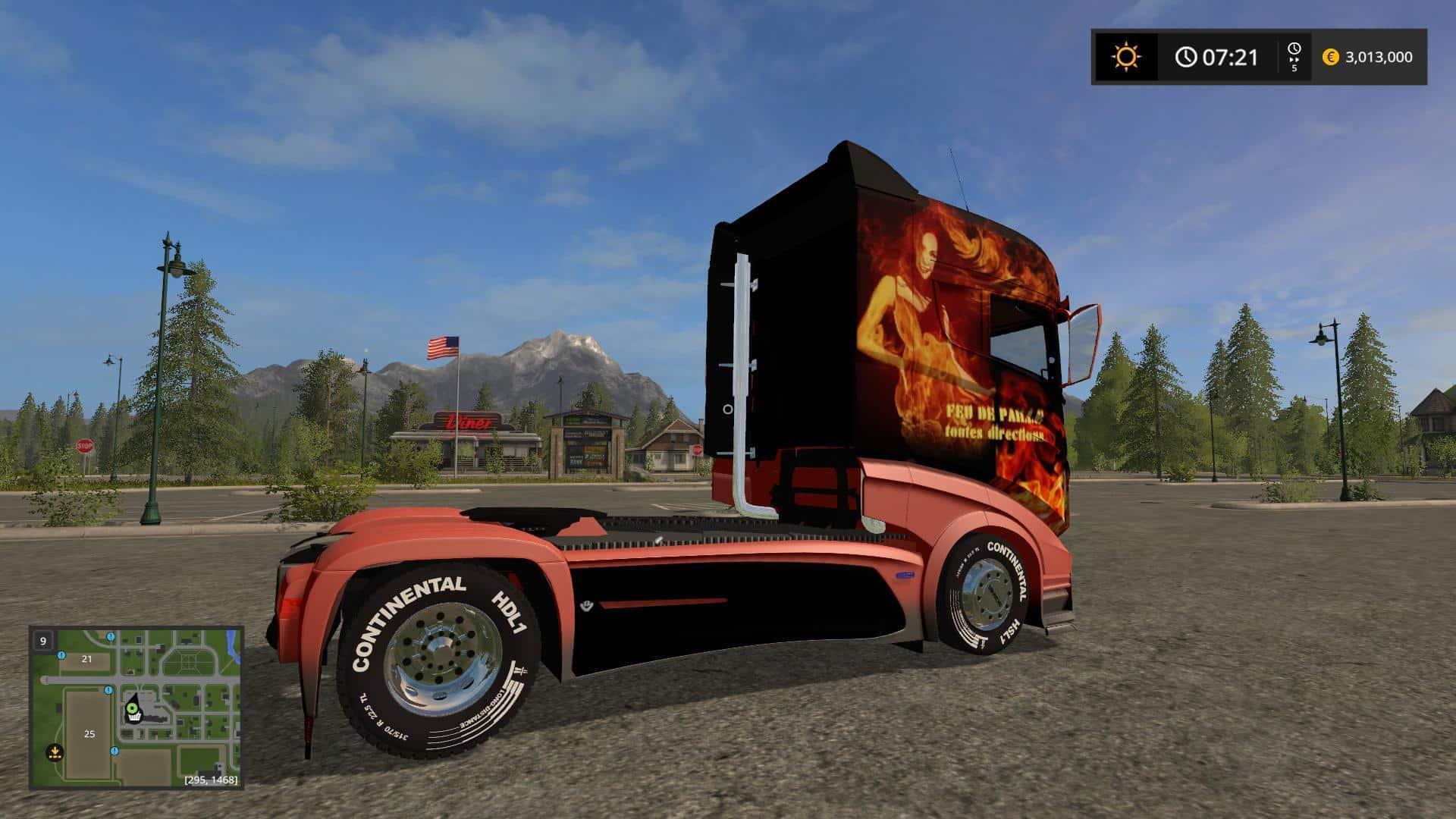 Scania R1000 FEU v1.0