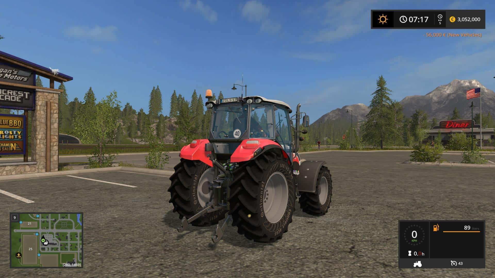 Steyr Kompakt 4095 FL LS17 wsb v1.0