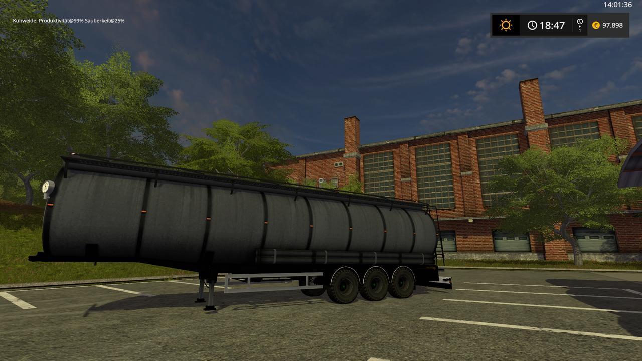 Vanhool Tanker AUFLIEGER v3.0