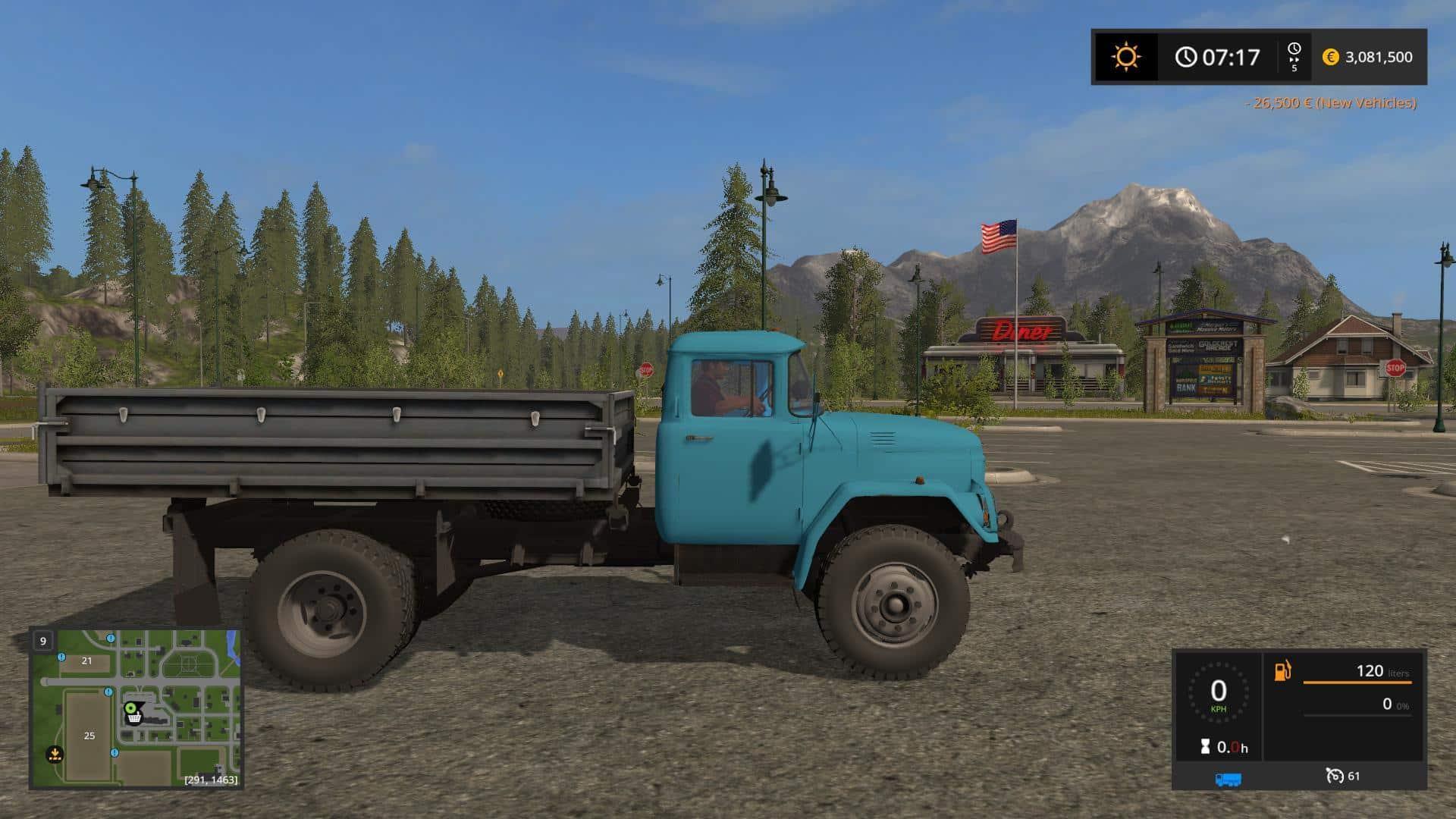 ZIL 130 Amur v1.0