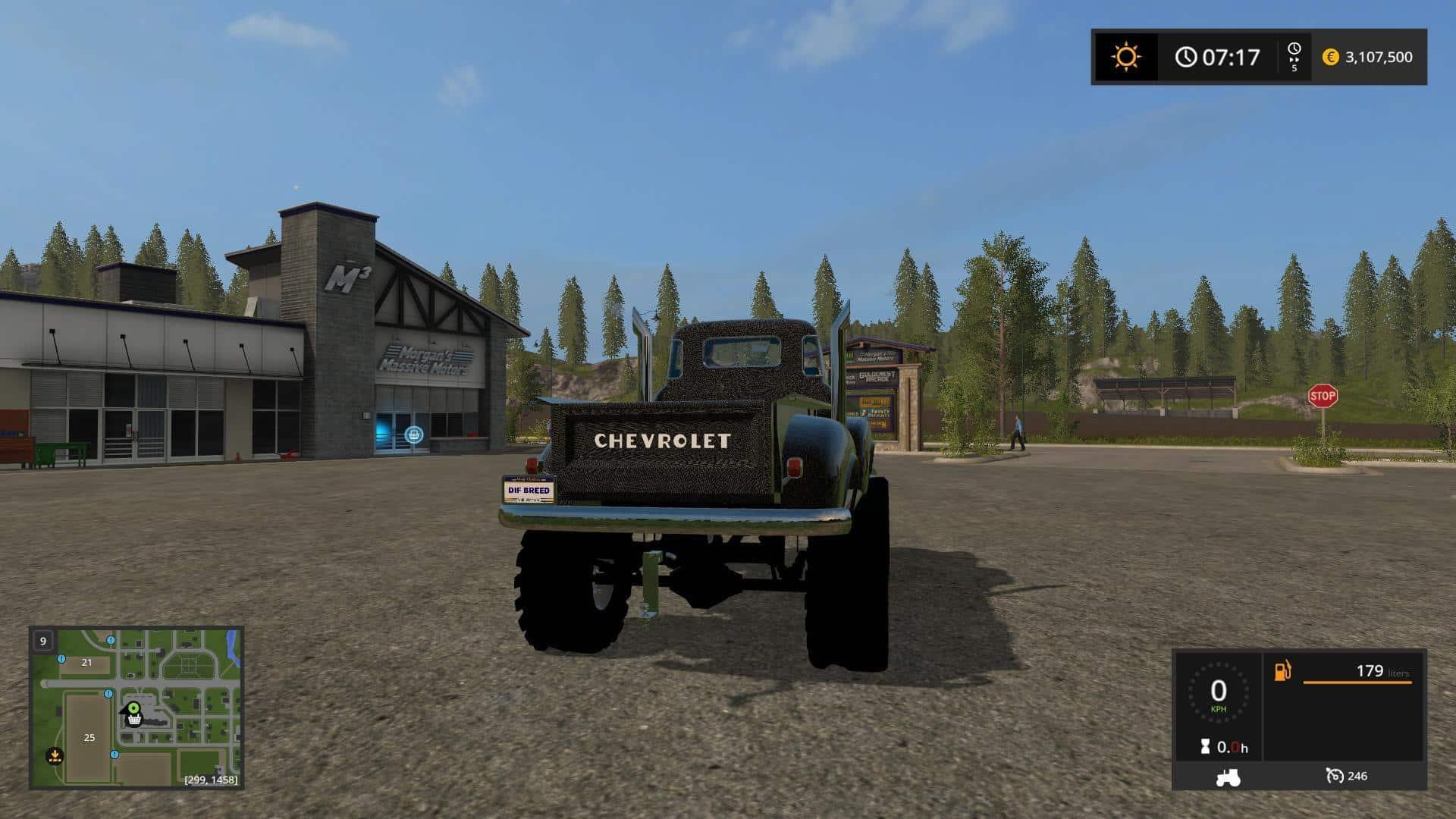 1950 Chevy 4x4 Pickup Truck v1.0
