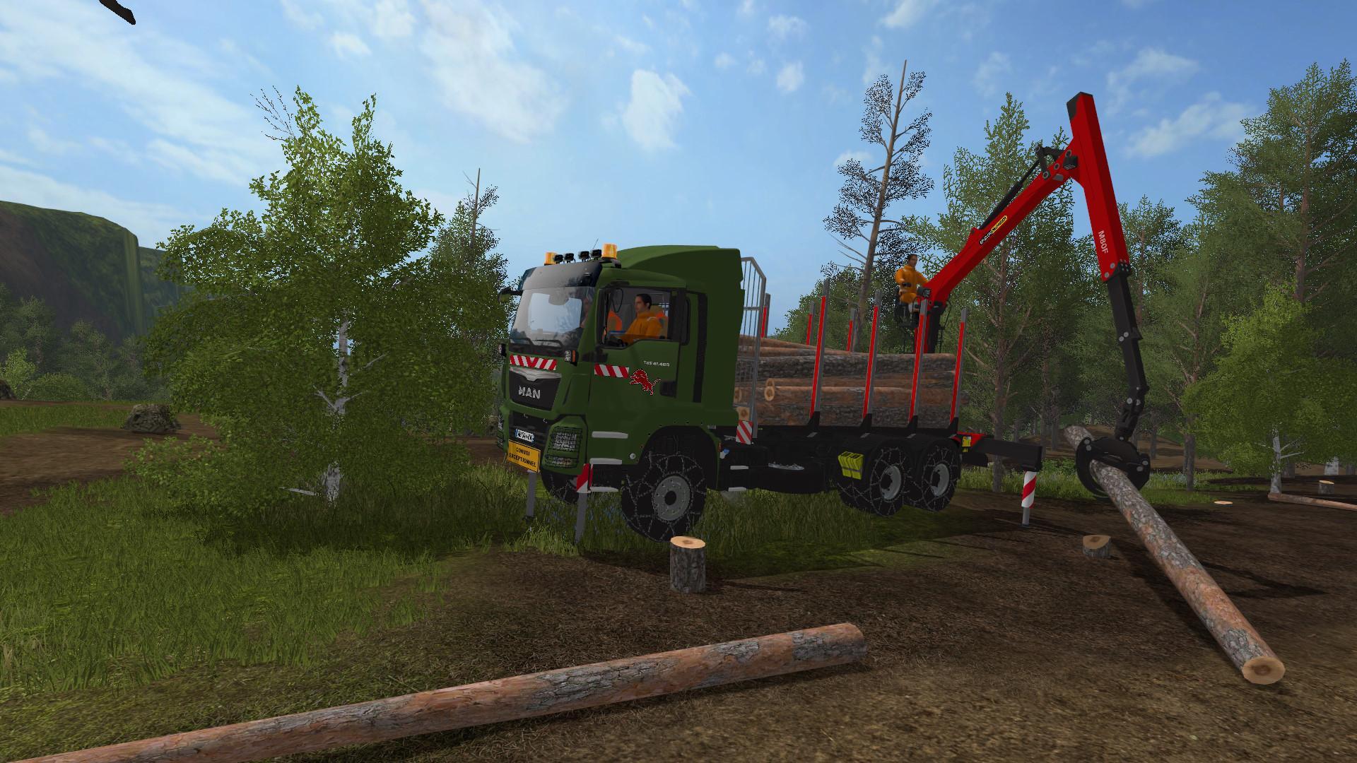 Man TGS 41480 6x4 Palfinger Grumier v1.0