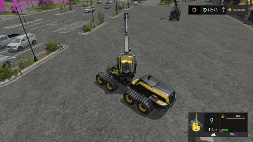 Excavators Tracks Position V 1.0 [MP]