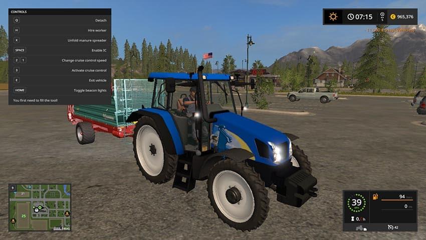 New Holland T5070 v 2.0