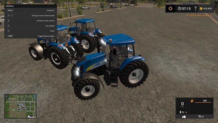 New Holland TG200 (230, 255, 285) V 3.0 [MP]