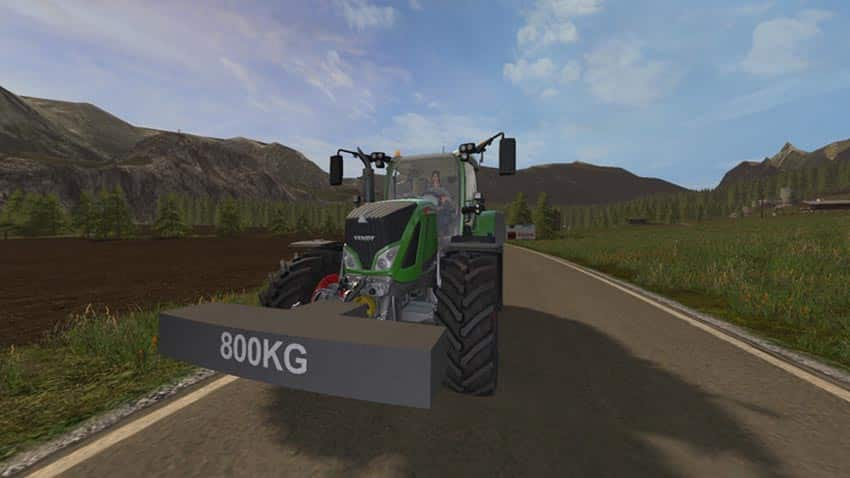 Self-made weight 800 KG V 1.0 [MP]