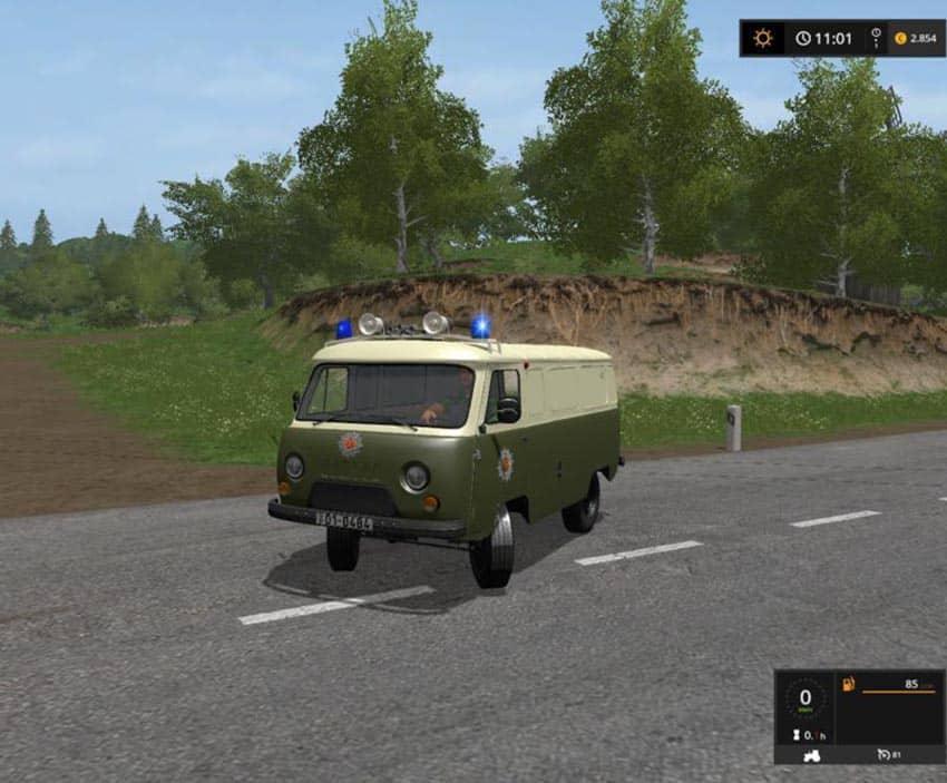 UAZ Volkspolizei v 1.0