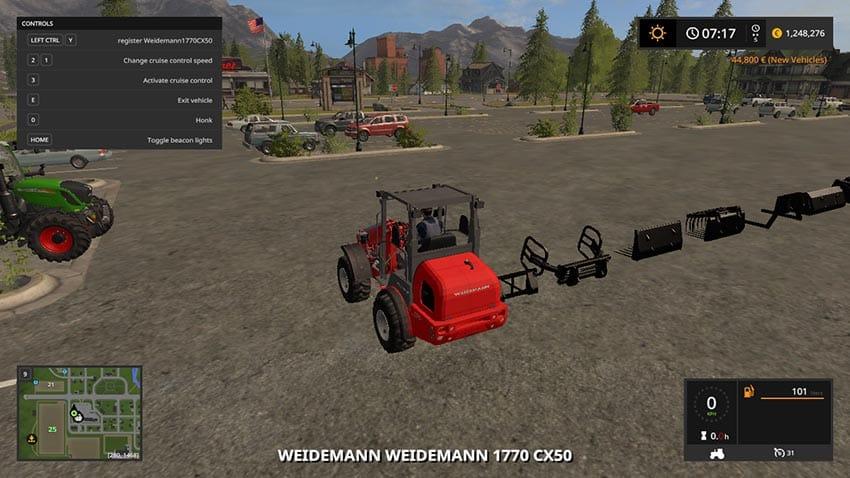 Weidemann 1770 GX50 V 1.0 [SP]