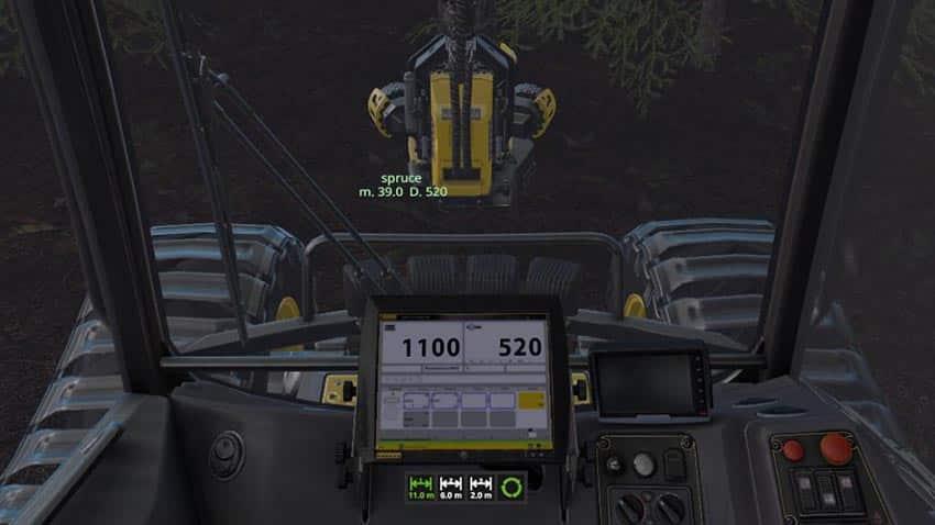 Wood Harvester Automation v 1.0