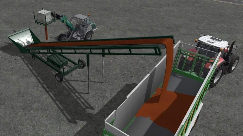 Bales And Wood Conveyor Belt v1.0.0.0