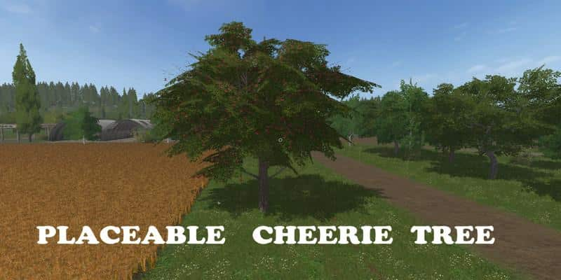 Cheeries Placeable Tree v1.0
