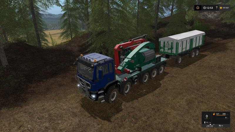 Forest extension for the MAN TGS 6x / 8x / 10x AR-Pack v2.1