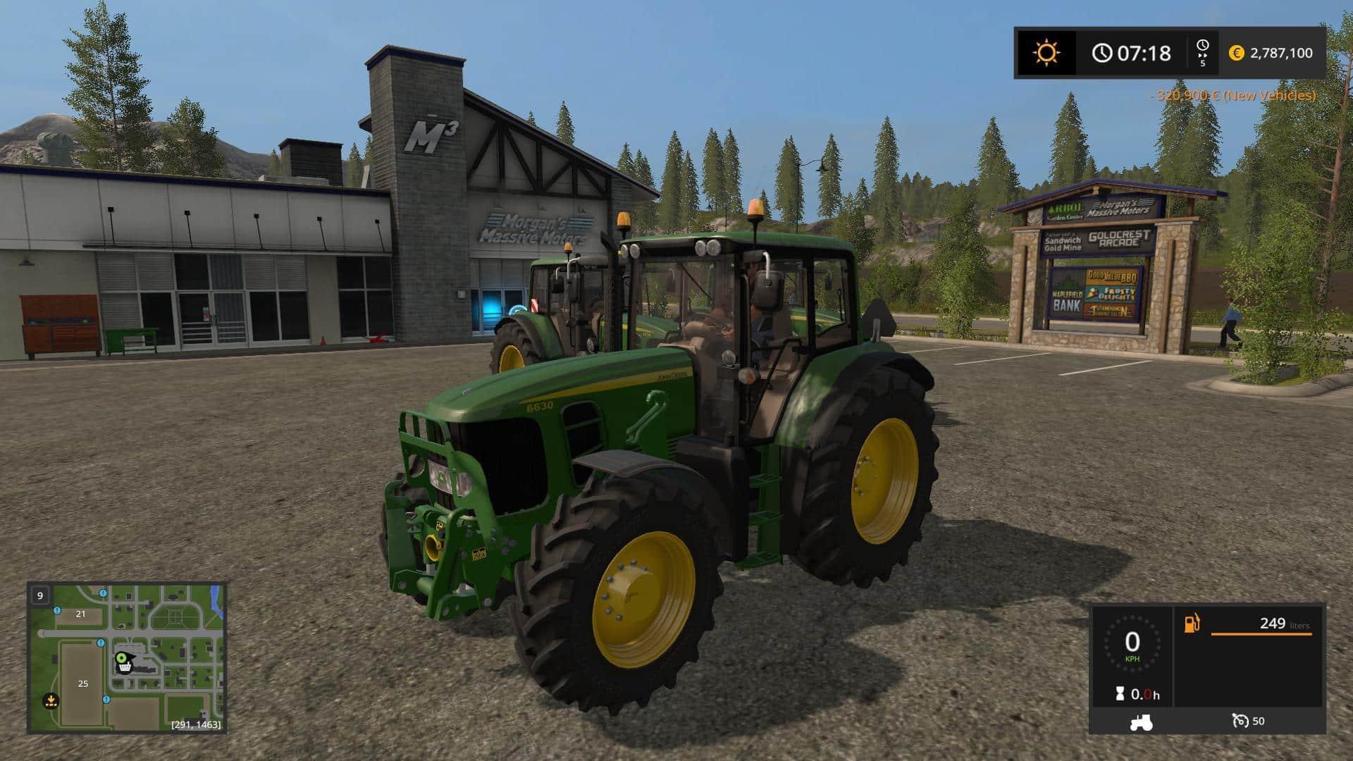 John Deere 6030 Premium v1.0