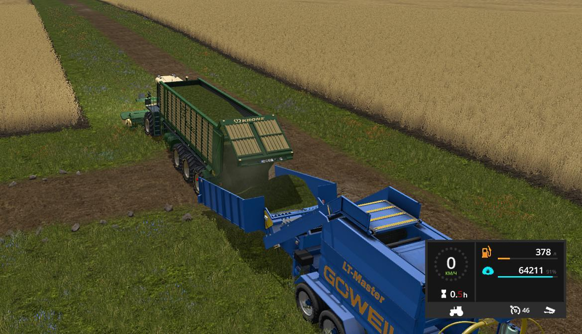 KRONE BIG MOWER v1.0.0.4b Update