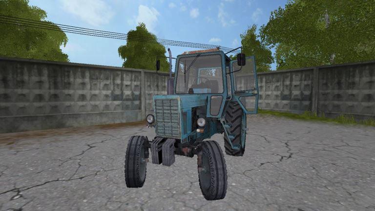 MTZ 80 Blue v1.2