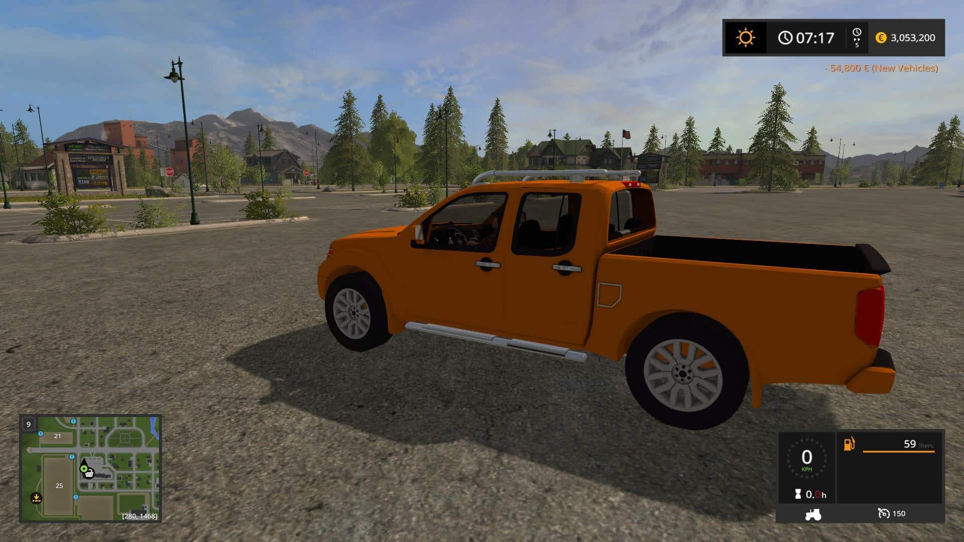 Nissan Frontier PRO-4x v1.0