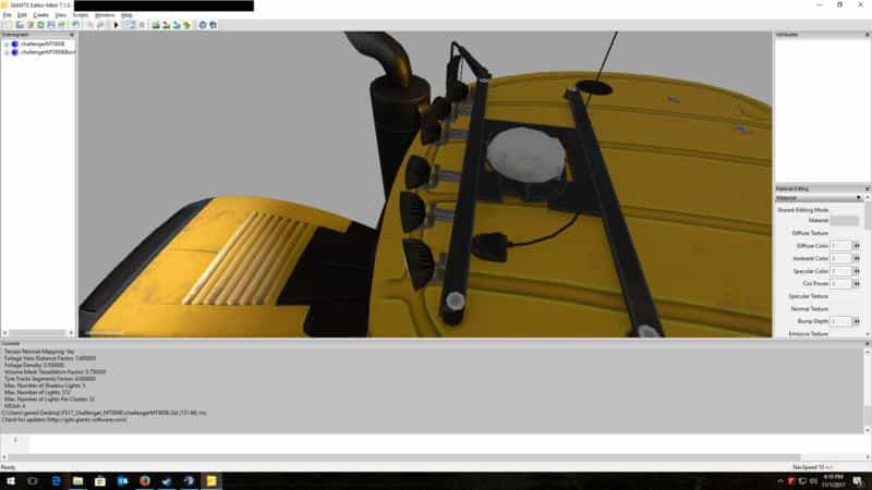 Work Light Addon v1.0