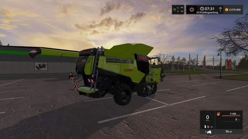 Claas Lexion 780 Package Limited Edition v1.0