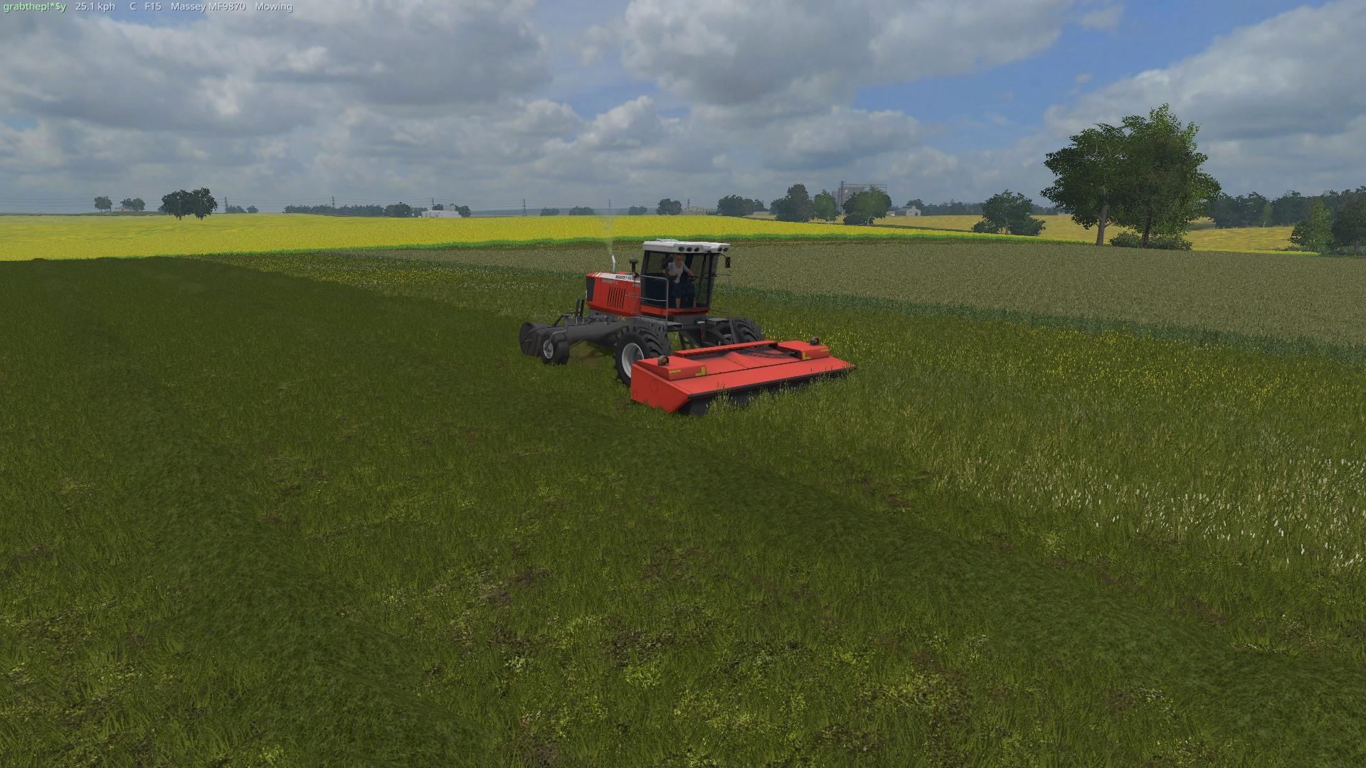 Massey Swather Mower v1.0