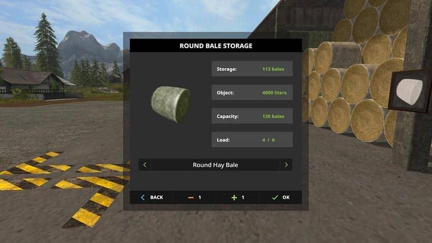 Bale Storage v 1.0
