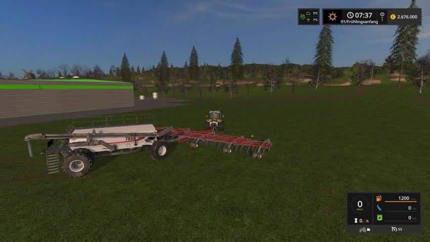 Bourgault Airseeder Combi v 1.0