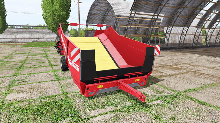 Grimme RH 24-60 manure and woodchips v 1.0