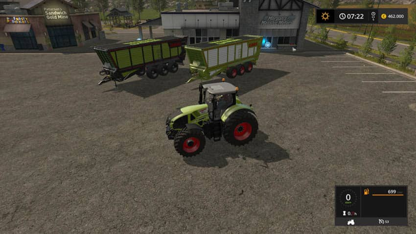 Krone TX 560 D Claas Edition V 1.0 [SP]